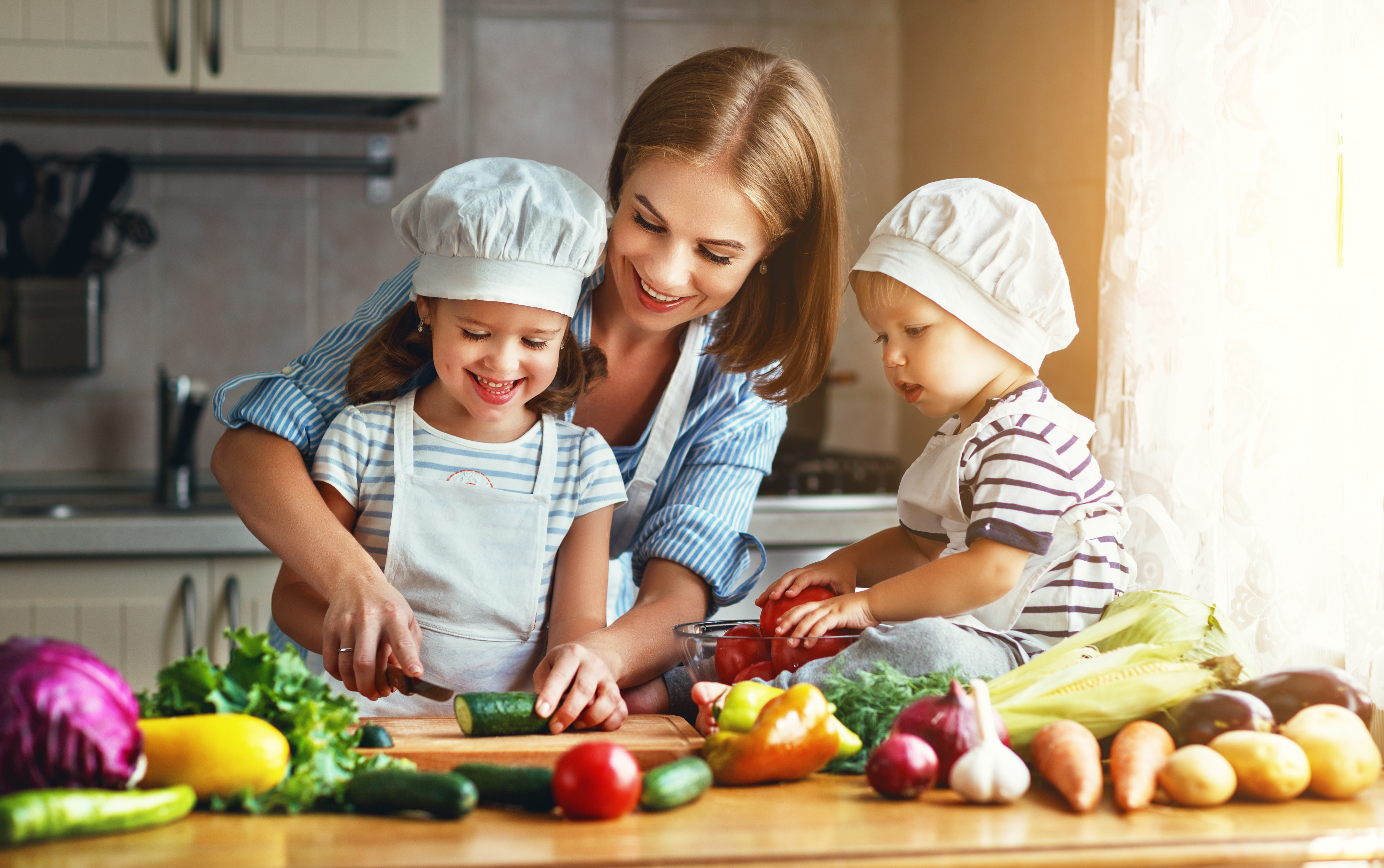 Getting your Children to enjoy Healthy Food