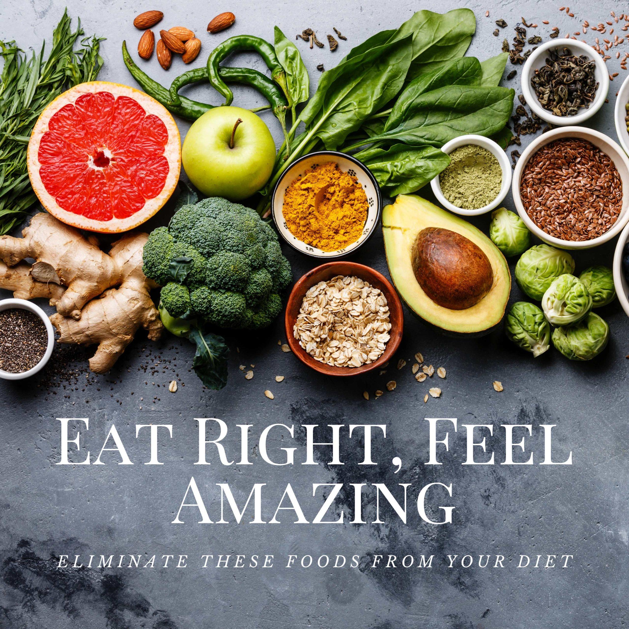 Eat Right, Feel Amazing