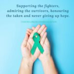 ovarian cancer awareness month, cancer research, ovarian cancer, the healthy life foundation